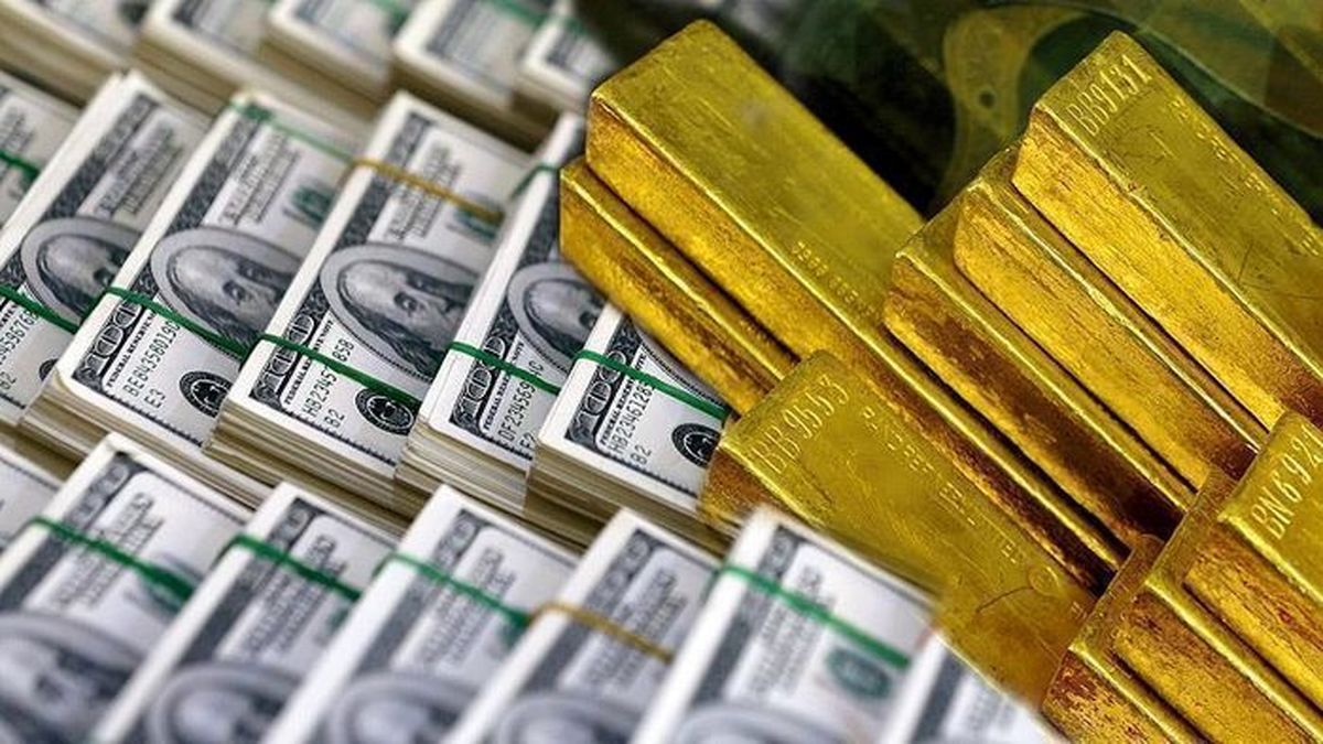 دلار سد دفاعی افزایش قیمت طلا شد