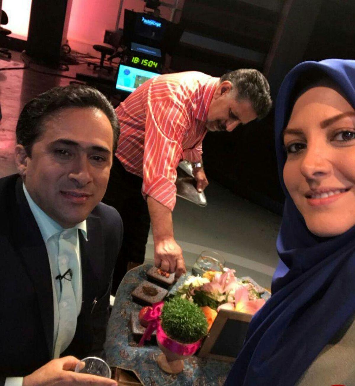 عکسهای المیرا شریفی مقدم در کنار همسرش